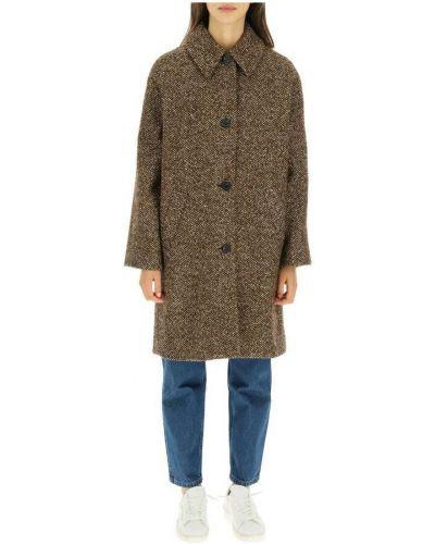 Brązowy płaszcz A.p.c.
