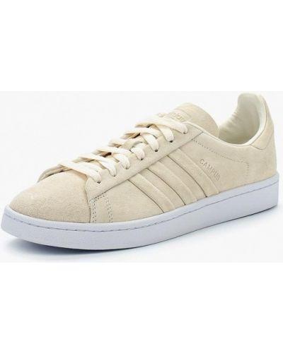 Белые кеды замшевые Adidas Originals