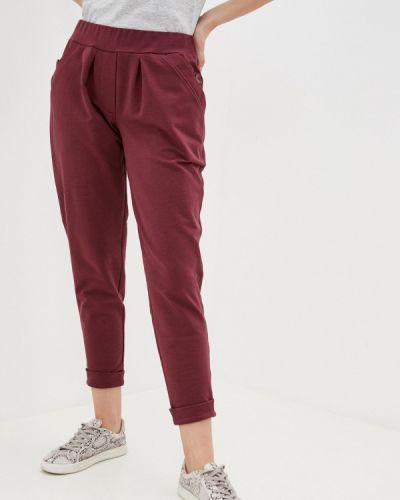 Красные повседневные брюки Duckystyle
