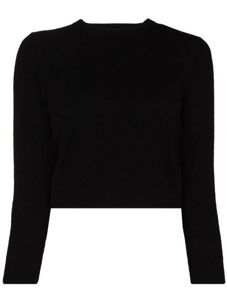 Kaszmir czarny sweter Tibi