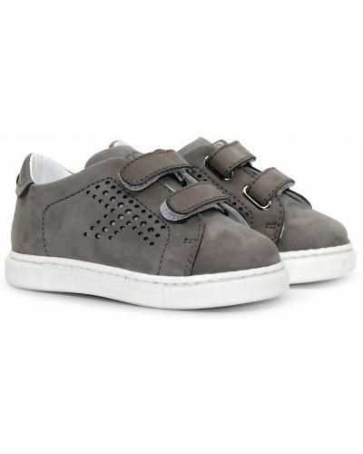Szare sneakersy Tod's