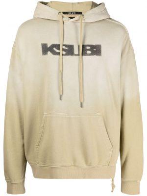 Czarna bluza z kapturem Ksubi