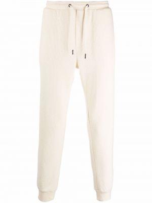 Białe spodnie bawełniane Viktor & Rolf
