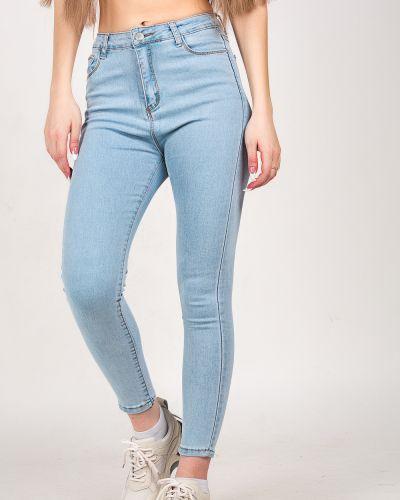 Хлопковые джинсы - синие Denim