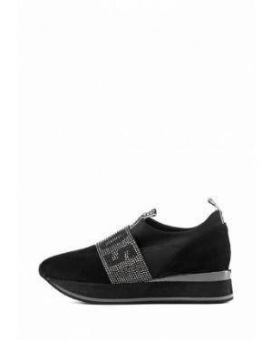 Текстильные кроссовки - черные Stefano Lompas