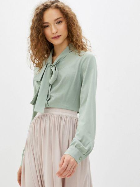 Зеленая блузка с бантом Imago