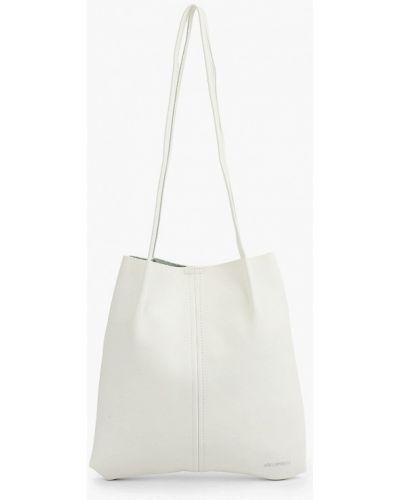 Белая кожаная сумка Lolli L Polli