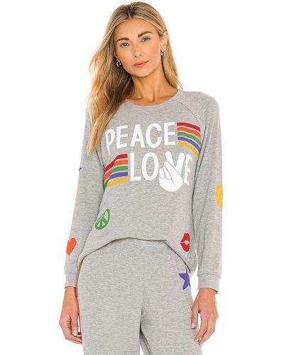 Пуловер в полоску Lauren Moshi