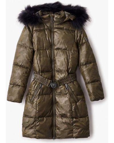 Свободная зеленая теплая куртка Finn Flare