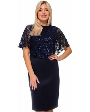 Платье футляр с пайетками Nikol