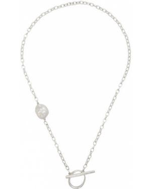 Серебряное ожерелье с жемчугом Faris