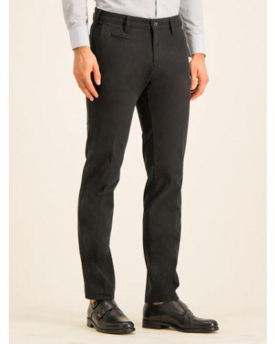 Czarne spodnie materiałowe Digel