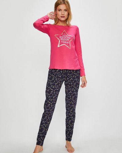 Piżama długo różowy Henderson Ladies
