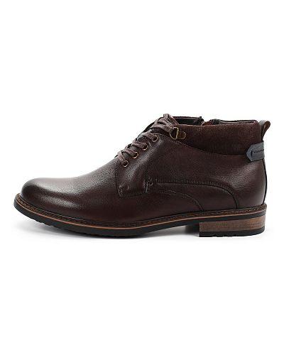 Коричневые ботинки осенние Thomas Munz