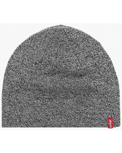 Серая шапка осенняя Levi's®
