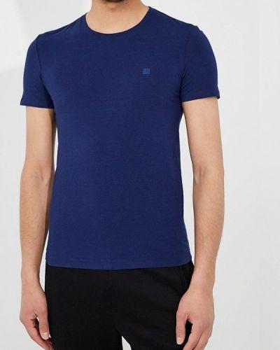 Синяя футболка Ermenegildo Zegna