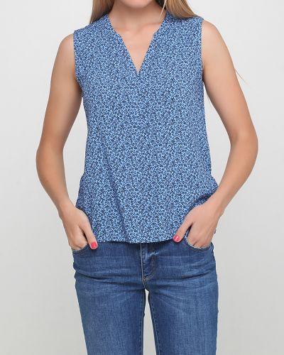 Блузка - синяя Montego