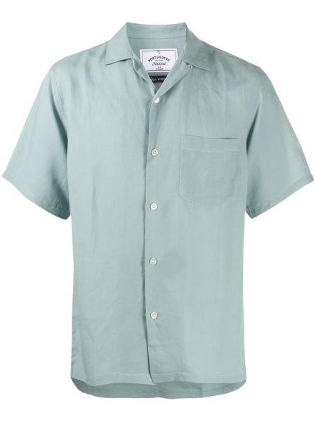 Прямая фланелевая рубашка с короткими рукавами с воротником на пуговицах Portuguese Flannel
