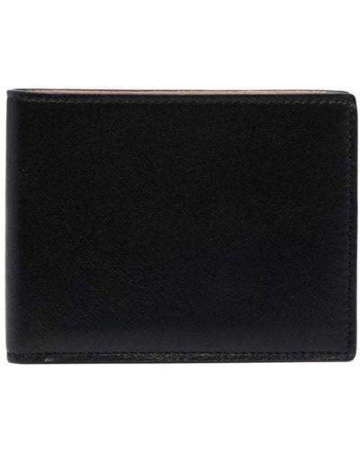 Кожаный кошелек - черный Common Projects