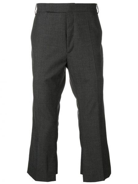 Прямые прямые брюки с поясом пэчворк новогодние Namacheko