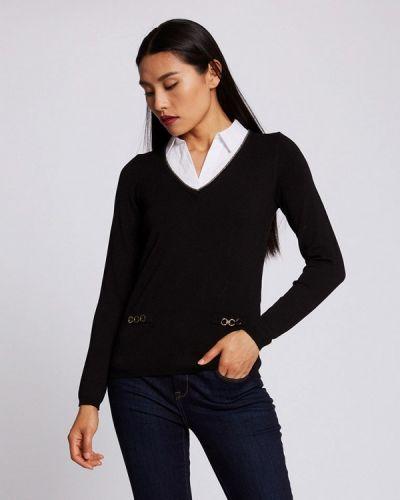 Черный пуловер Morgan