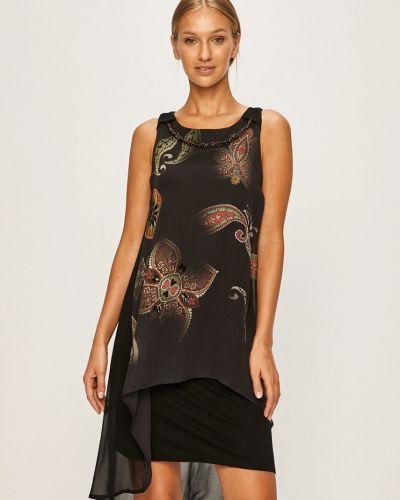 Платье с декольте прямое Desigual