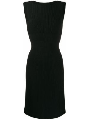 Приталенное платье винтажное без рукавов с вырезом Alaïa Pre-owned