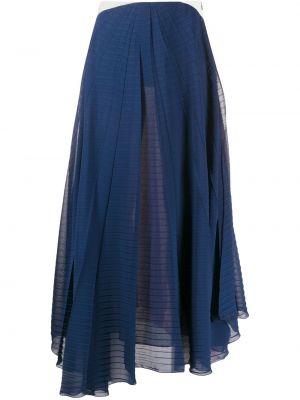 Плиссированная юбка с завышенной талией макси Roland Mouret