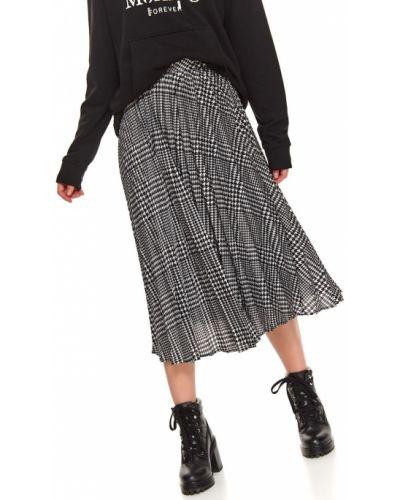 Spódnica plisowana - czarna Top Secret
