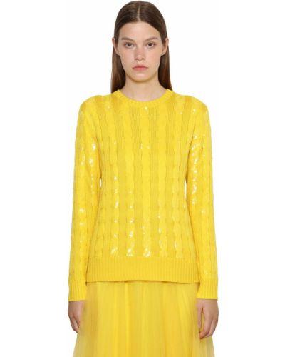 Свитер с воротником - желтый Ralph Lauren Collection