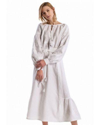 Белое платье Etnodim