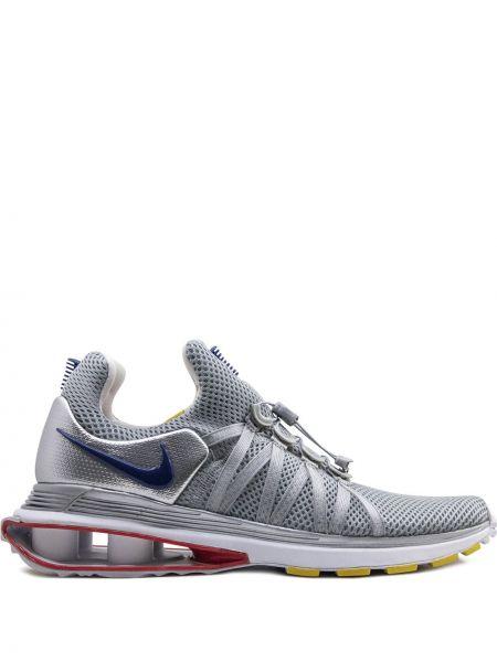 Sneakersy srebro miejski Nike