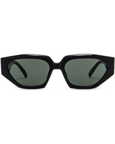 Czarne okulary Le Specs