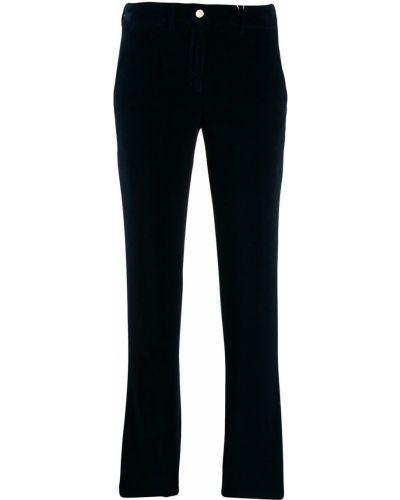 Укороченные брюки зауженные с карманами Incotex