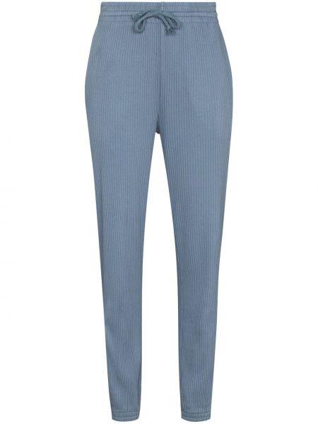 Niebieskie spodnie bawełniane Baserange