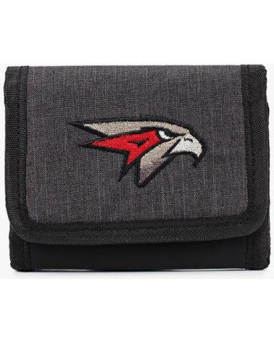 Клубный текстильный серый кошелек Atributika & Club™