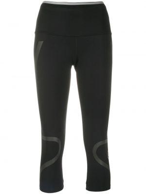 Черные спортивные леггинсы со вставками эластичные Adidas By Stella Mccartney