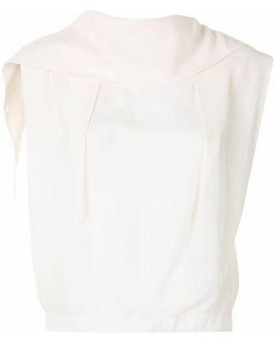 Biały top bez rękawów z wiskozy 3.1 Phillip Lim