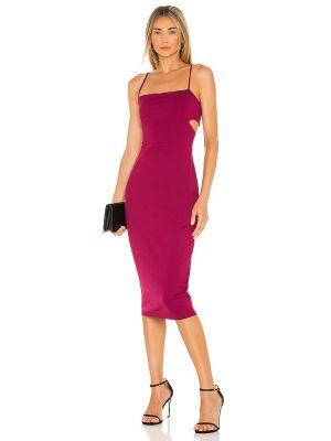 Платье с вырезом - фиолетовое Susana Monaco