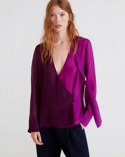 Блузка с длинным рукавом осенняя Mango
