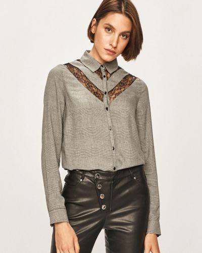 Блузка с длинным рукавом из вискозы классическая Morgan