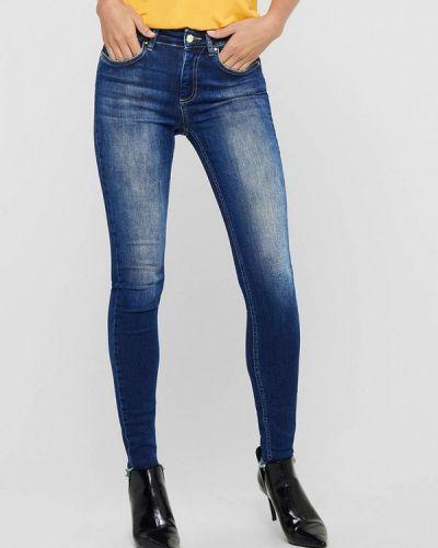 Синие джинсы-скинни узкого кроя Only