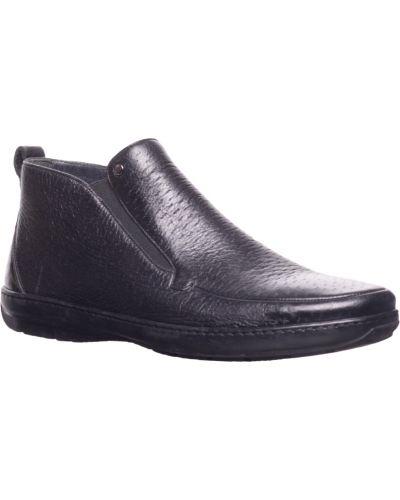 Кожаные ботинки осенние черные Aldo Brue