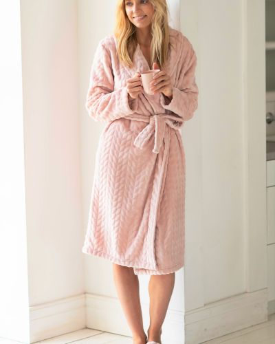 Домашний халат - розовый Naviale