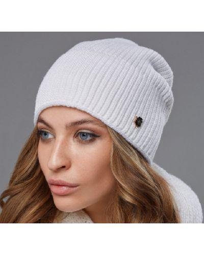 Флисовая шапка - белая Edira