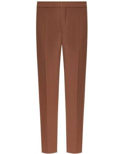 Укороченные брюки со стрелками из крепа Chloé