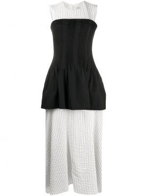 Платье миди макси в полоску Nina Ricci