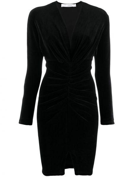 Платье с V-образным вырезом со складками Iro