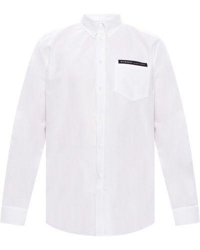 Biała koszula bawełniana na co dzień Givenchy