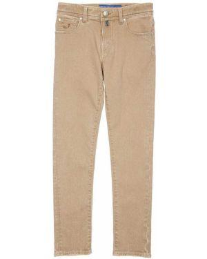 Джинсовые джинсы на молнии с принтом Jacob Cohen